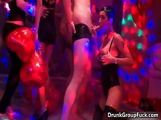 Wet and horny babes are kissing, dancing part6