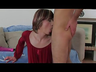 Hard Russian crossdresser sex