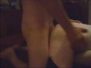 Fucking The Crossdresser as His Wife Records Us
