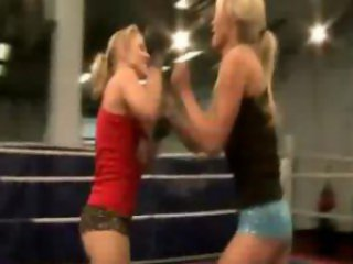 NudeFightClub presents Laura Crystal vs Michelle...