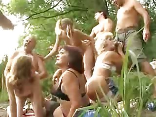 XXX Orgy Mature Outdoor
