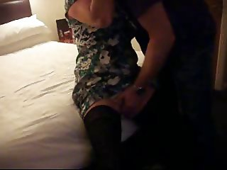 Wife fucked in a hotel by her new bull
