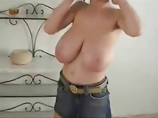 Crazy busty wife