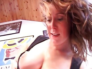 Busty MILF Lydia St. Martin hard fucked and DP