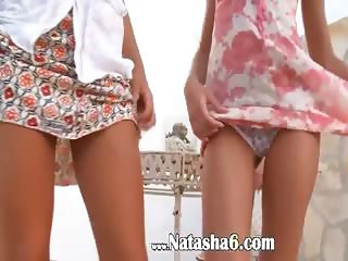 Two vatican chicks naked outdoor