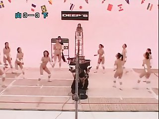 Nude Japanese  Volleyball