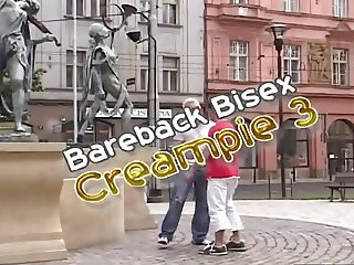 Bareback Bisex Cream Pie 3 part1