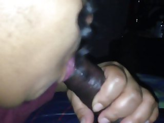 Milf sucking dick And swallowing come