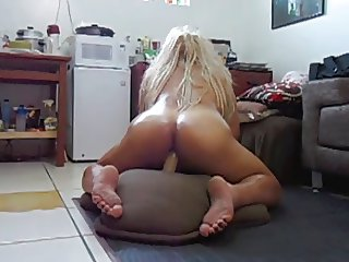 my sweet ass riding a dildo