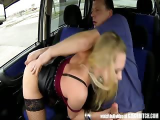 Real WHORE Picked up Between Trucks and Get Paid for Sex