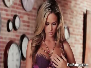 Hot blonde honey Prinzzess gets naked part1