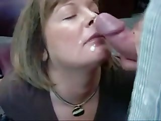 Awesome mature blowjob