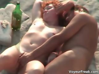 Nasty redhead babe feels horny after part2