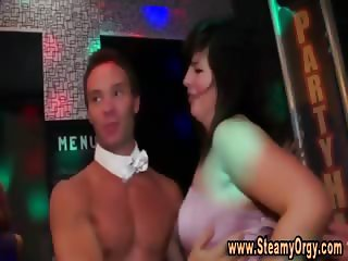 Partying amateur whores get fucked