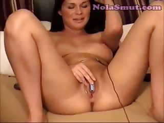 Sexy Gianas Vibrating Egg Jilling