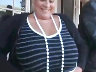 Mardi Gras Thick Chick Awesome Boobs