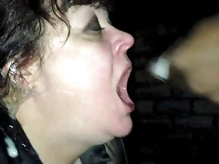 wet sloppy BBC deepthroat