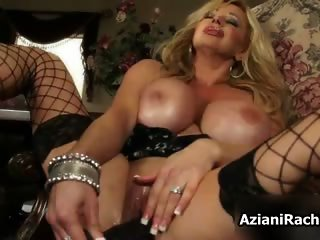 Gorgeous blonde milf with huge tits part2