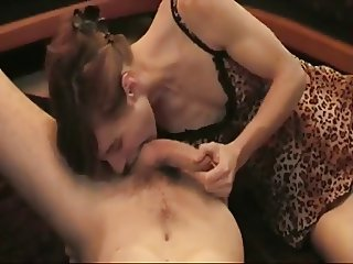 Sexy Skinny Chick Loves To Ride Dick !