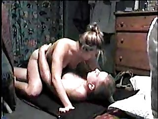 Dominant wife riding a guy
