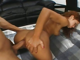 18yr Old Chiquita Lopez Gets Her Asshole Nailed