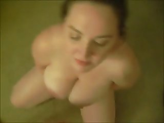 BBW Head #73 (On her knees taking a facial!)
