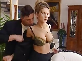 German MILF Natural Tits Fucked