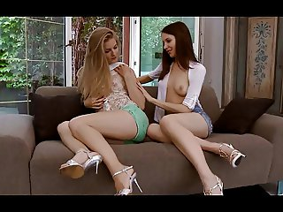Cayenne and Candy - Sweet Sapphic Sex