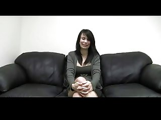 Pregnant Brunette Casting by TROC