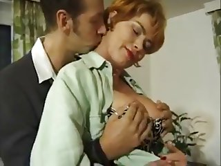 German mature milf Kira Red anal - assfucked