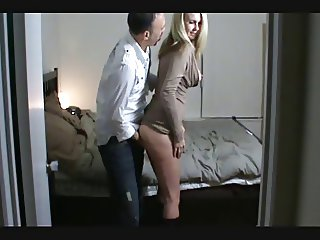 Couple Fucking VERY HOT FUCKED AT A PARTY