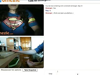 omegle. Super-women want me cum on her tongue
