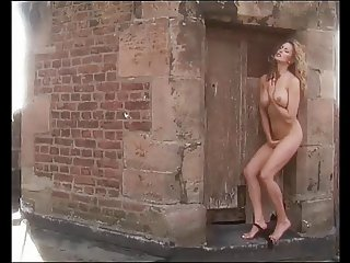 Kirsten Imrie Naked & Touching Herself Outdoors