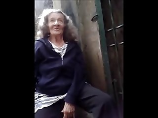 Granny likes the young cock