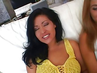Melanie Jagger and Misty Mendez love to cum swap