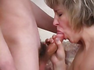 Russian MILF and two guys - 3