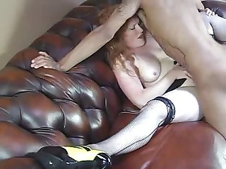 Freckled Redhead Daisy Gets Some BBC