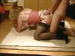 Wife gets fucked on real homemade