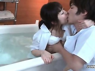 Sexy asian babe gets horny part6