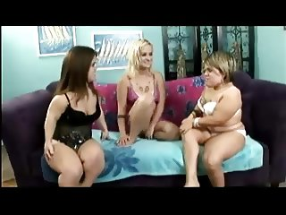 A Pair Of Tubby Dwarf Chicks Shave And Lez Out Hairy Heidi