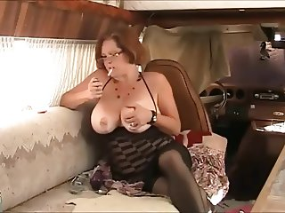 mature smoking and anal
