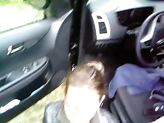 Street hooker in Polen blowjob and cum in mouth!