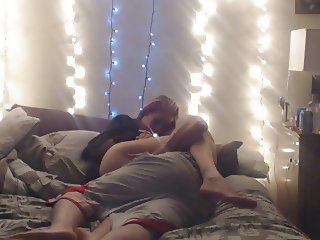 Creampie with hot couple on cam