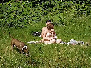Spy on Hot Couple In Nature sick or horny