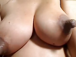 Incredible nipples clamped, sucked, milk and pulled
