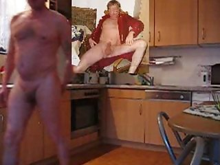 Man sodomized in the kitchen