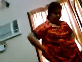 Aunty Changing dress