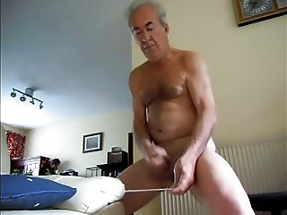 wanking wanting cum spurt