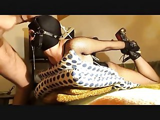Slave wife deepthroating husband 2
