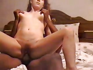 dirty talking white wife humiliates cuckold husband with bbc